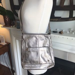 The Sak Cross-body leather bag